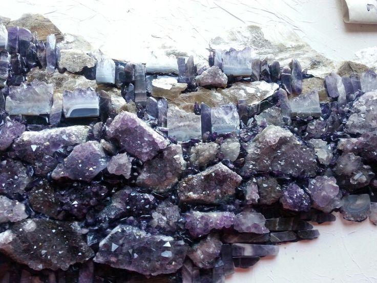 Healing Stones; Semi Precious Stones Crown Chakra