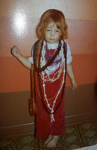 Me with my Jewels when I was little