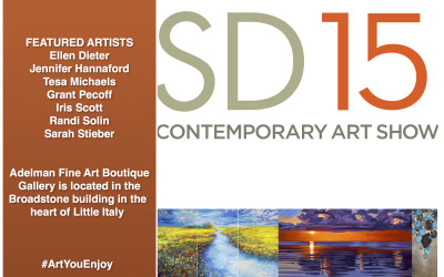 Adelman Fine Art Gallery; Art SD; Contemporary Show 2015