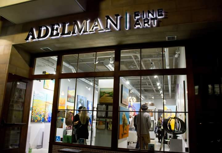 Adelman Fine Art Gallery Grand Opening