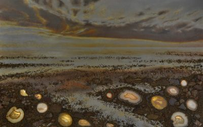 Making of Semi Precious Stones Painting – Dawning of a New Day