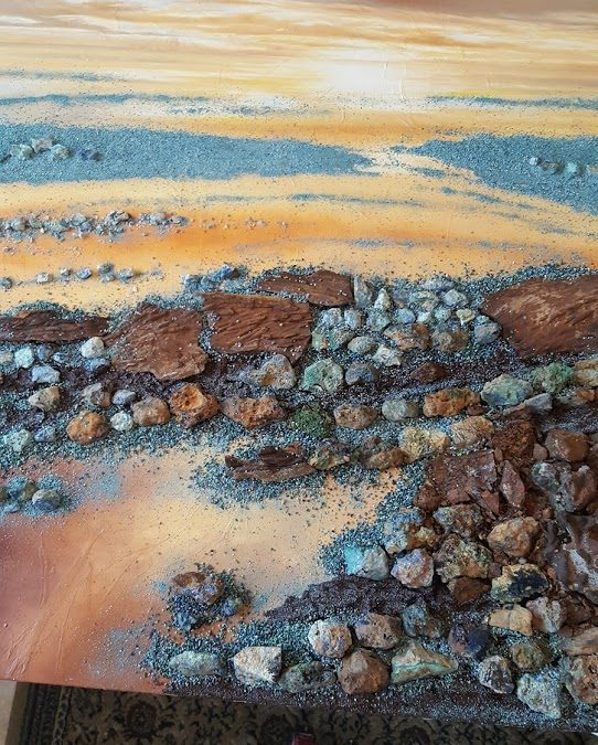 Behind the Scenes with Semi Precious Stones Painting – Emitt