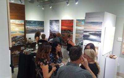 Semi Precious Stones Opening Reception Solo Show – Adelman Fine Art Gallery